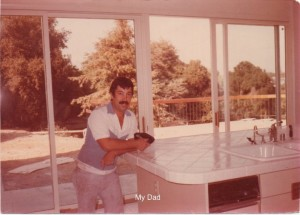My dad, Tile Contractor