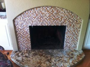 slab hearth mosaic tile