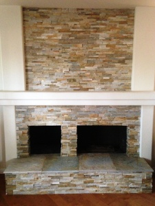 stackstone and hearth fireplace