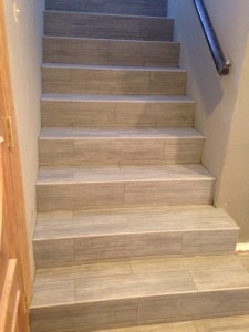 after photo of stairs