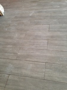 porcelain tile without grout