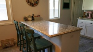sandy kitchen granite