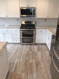 kitchen remodel, backsplash, floor, countertops